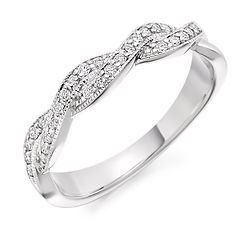 ring eternity wedding plaited fancy wiltshire swindon bristol cardiff diamond wedding