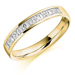 0.50ct band diamond channel setting round brilliant cut wedding eternity ring wiltshire swindon bris
