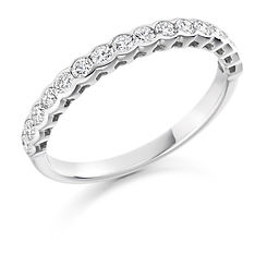 band diamond rubover round brilliant wedding eternity ring wiltshire swindon bristol cardiff