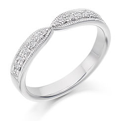 band diamond shaped round brilliant wedding eternity ring wiltshire swindon bristol cardiff