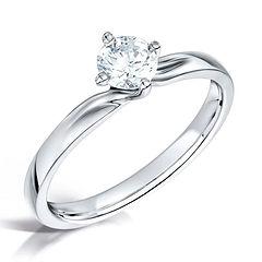 engagement ring swindon bristol round diamond twist twisted swindon cardiff bristol