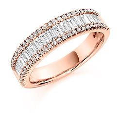 fancy stacking layered diamond ring jewellery swindon bristol cardiff wiltshire