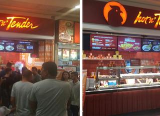 Inauguração Hot n' Tender São Gonçalo Shopping - RJ