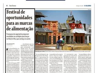 HNT sai no Jornal O Globo