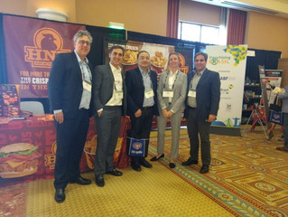 HOT N' TENDER MARCA PRESENÇA NO MULTI-UNIT FRANCHISING CONFERENCE 2018 - LAS VEGAS