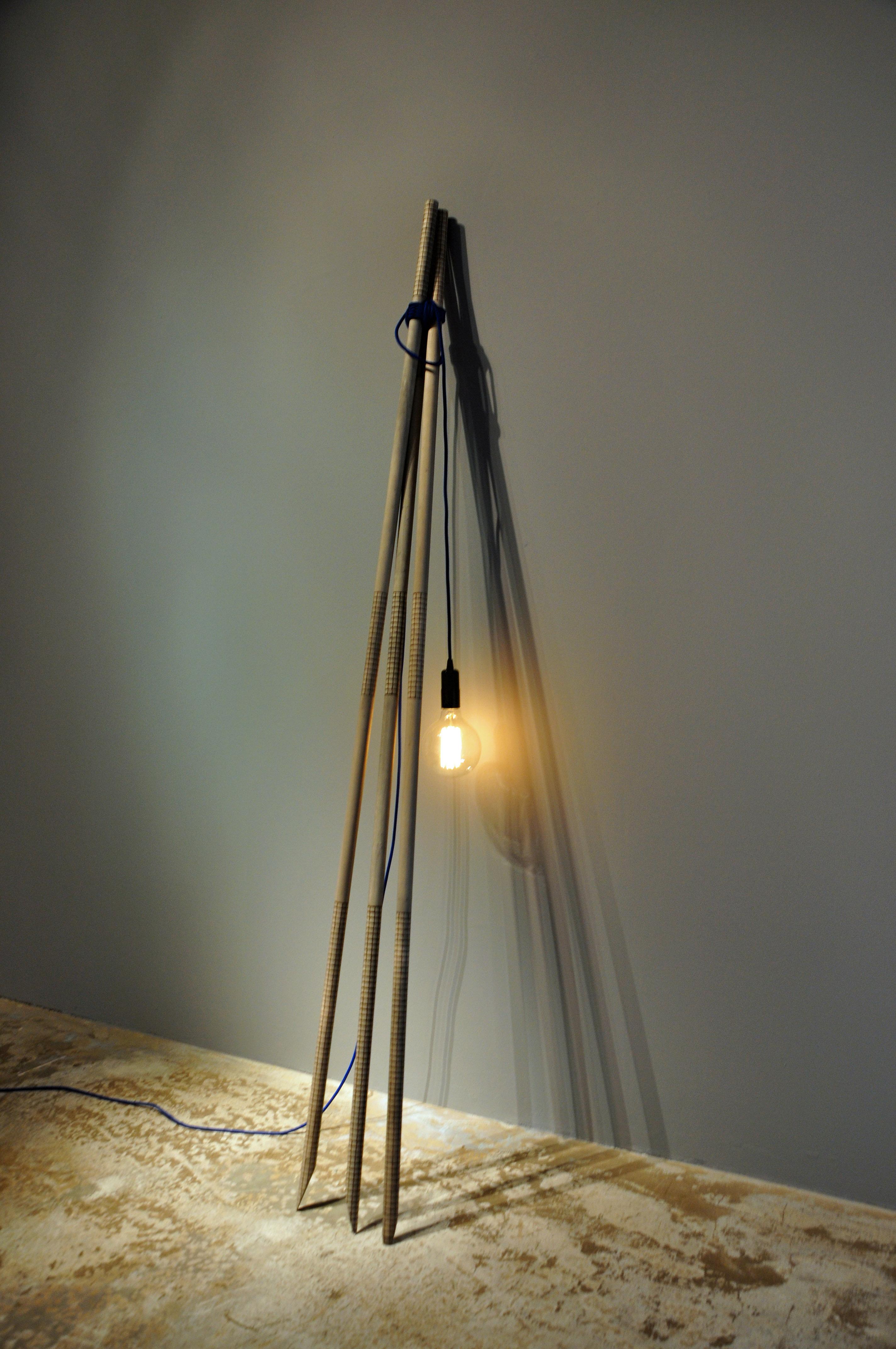 "Celia-Hannes, Floorlamp ""Campfire"""