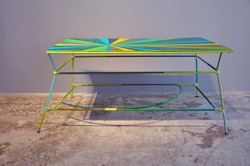 Gilbert Bretterbauer, Table (green)