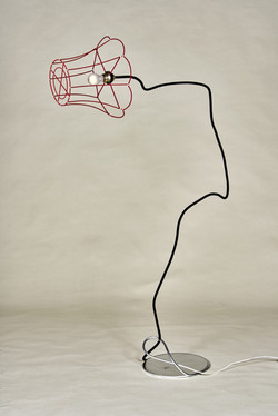 Gilbert Bretterbauer: Floor lamp