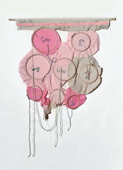 Gilbert Bretterbauer, Wall hanging