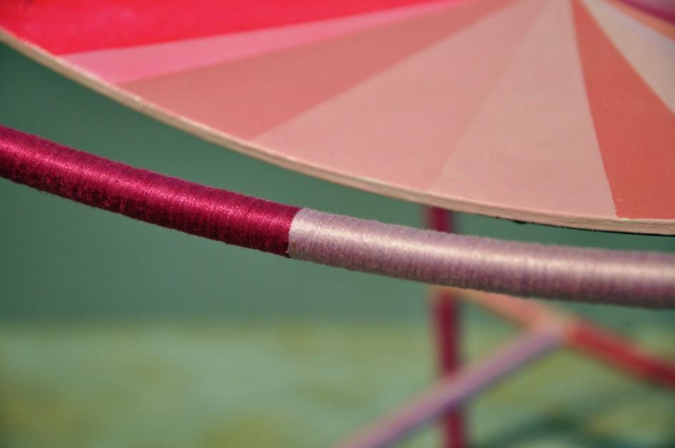 Gilbert Bretterbauer, Chair (pink)