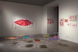 Gilbert Bretterbauer, neue Sessel und Kisses