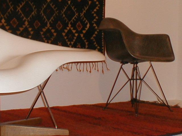 Berberteppiche + moderne Möbelklassiker