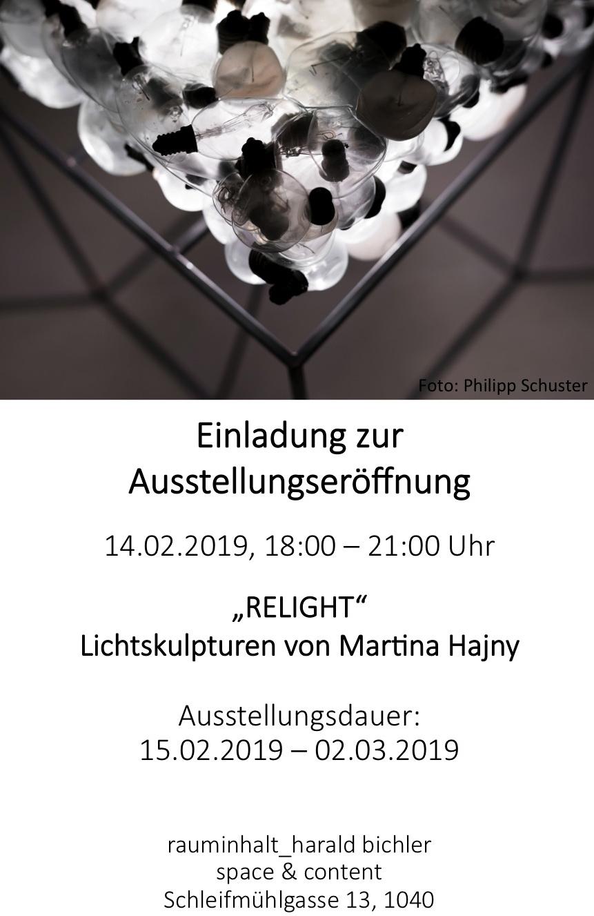 Martina Hajny_relight_ Einladung