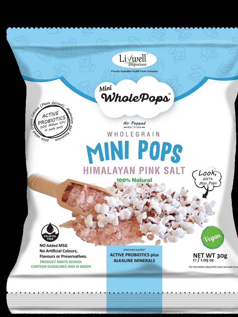 Mini Pops | Sea Salt | Active Probiotics 30grams