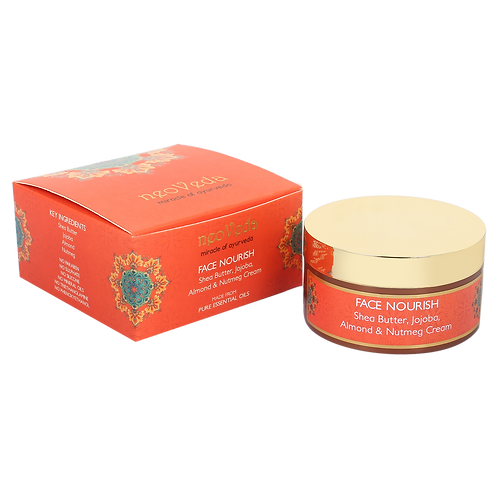 Face Nourish | Shea Butter, Jojoba, Almond & Nutmeg Cream