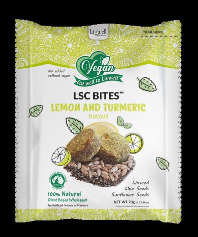 LSC Bites | Lemon & Turmeric