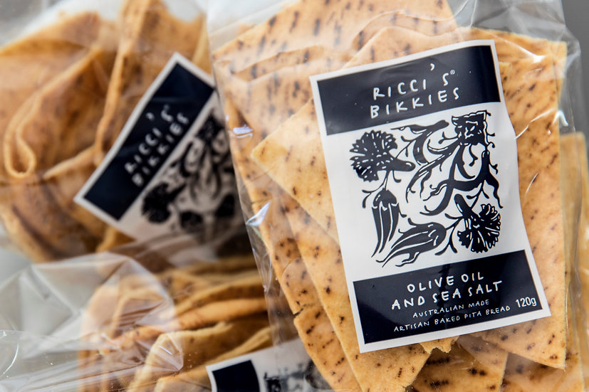 Ricci's Bikkies | Olive Oil & Sea Salt