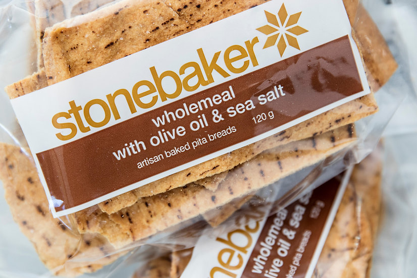 Stonebaker® | Wholemeal with Olive Oil & Sea Salt