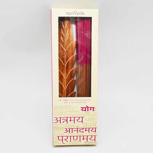 Two-Tone Incense | Rose and Jasmine