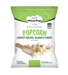 LivWell | Wholepops lightly salted, slightly sweet