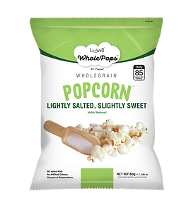 LivWell | Wholepops lightly salted, slightly sweet