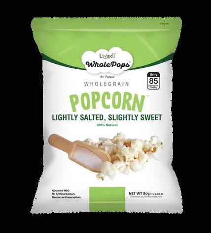 Wholepops | Salty & Sweet | 80grams