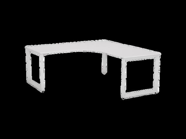 Balance Commercial   Avril Single Fixed Height Desk Corner