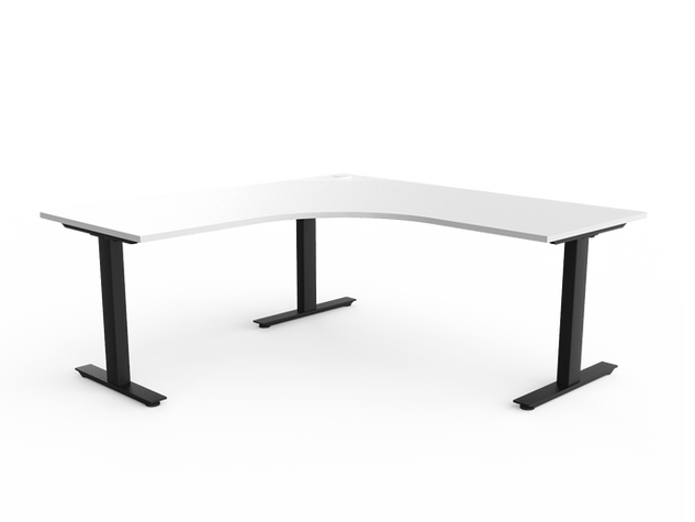 Balance Commercial | Agility Go Corner Desk Fixed Position