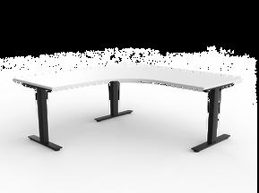 Balance Commercial   Agility Go Corner Desk Fixed Position