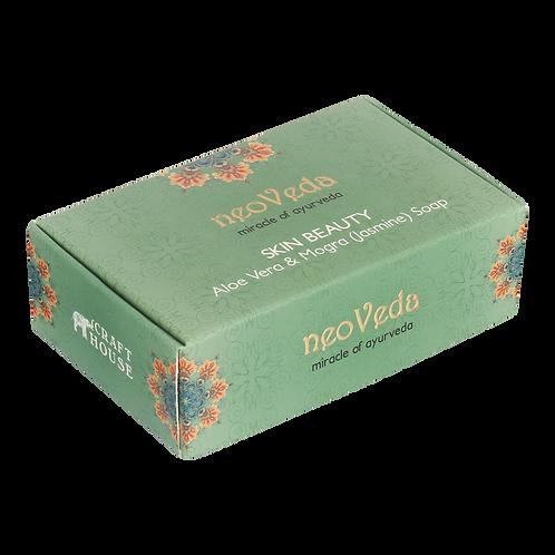 Skin Beauty | Aloe Vera & Mogra (Jasmine) Soap
