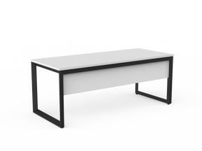 Balance Commercial | Avril Single Fixed Height Desk w Modesty Panel