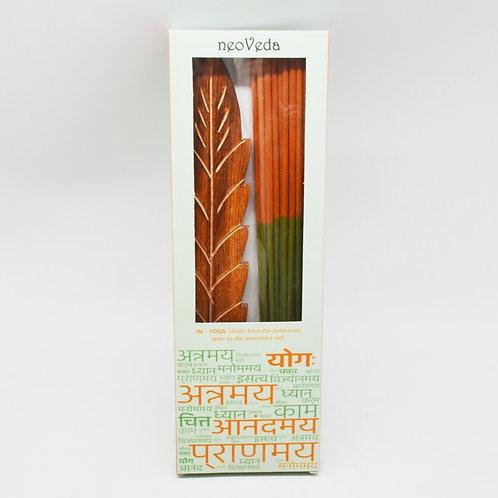 Two-Tone Incense | Sandalwood & Musk