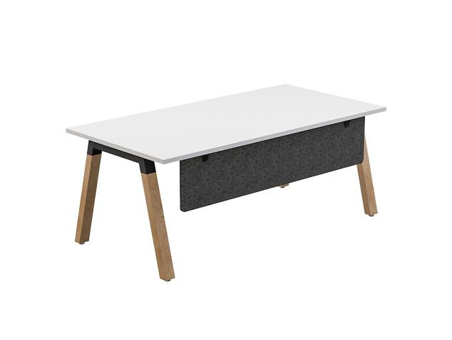 Balance Commercial | Oasis Desk w Modesty Panel