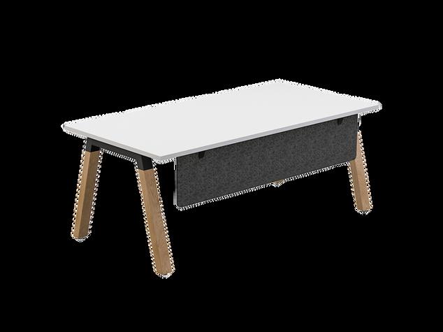 Balance Commercial | Oasis Desk w Modesty Panel