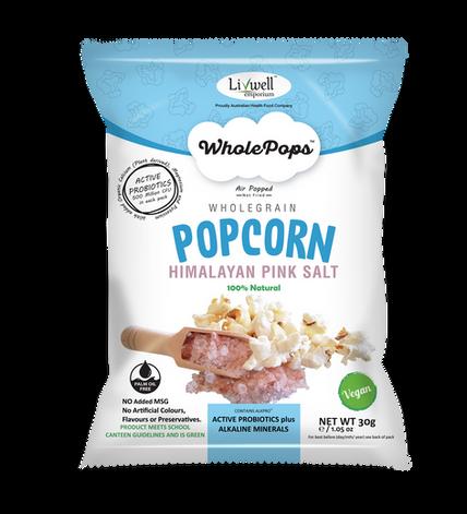 Wholepops | Himilayan Pink Salt | Active Probiotics 30grams