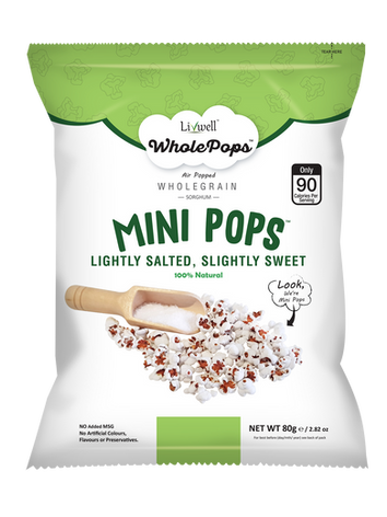 Mini Pops | Sea Salt Sweet Salty
