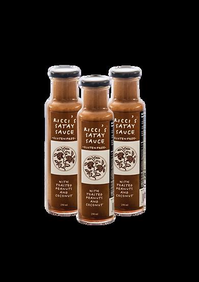 Ricci's Sauces | Satay Trio