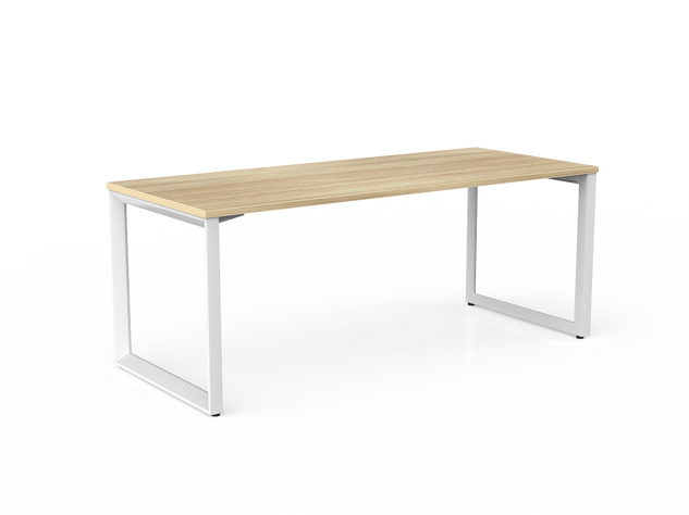 Balance Commercial   Avril Single Fixed Height Desk
