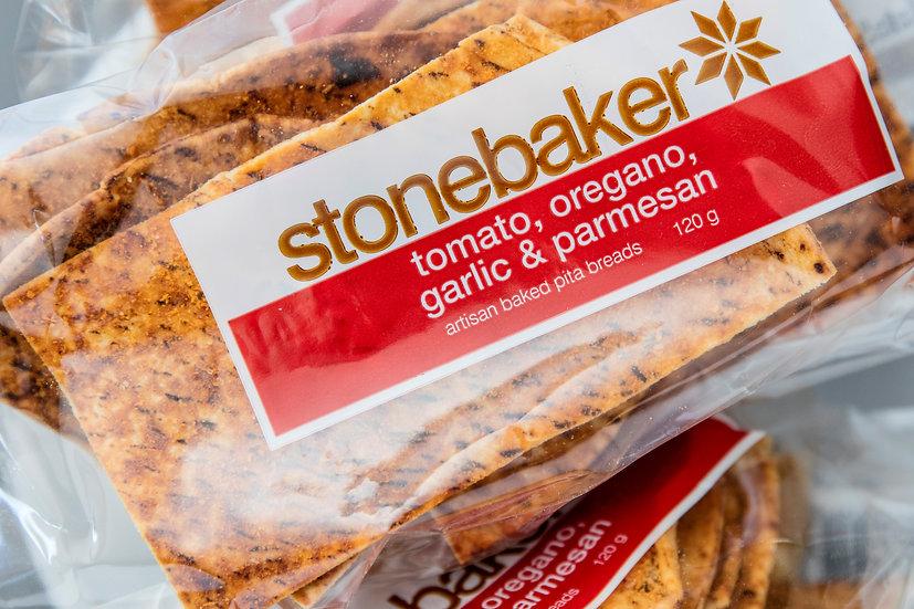Stonebaker® | Tomato, Oregano, Garlic & Parmesan