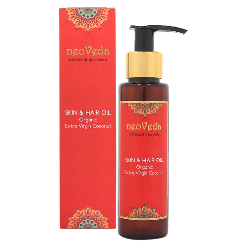 Skin and Hair Oil | Organic Extra Virgin Coconut
