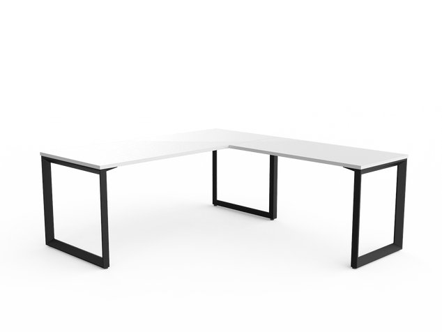 Balance Commercial | Avril Single Fixed Height Desk Left or Right Turn