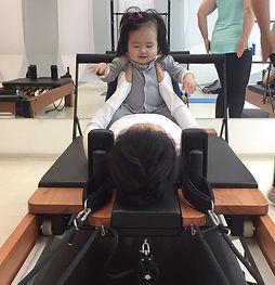 pilates mamae e bebe