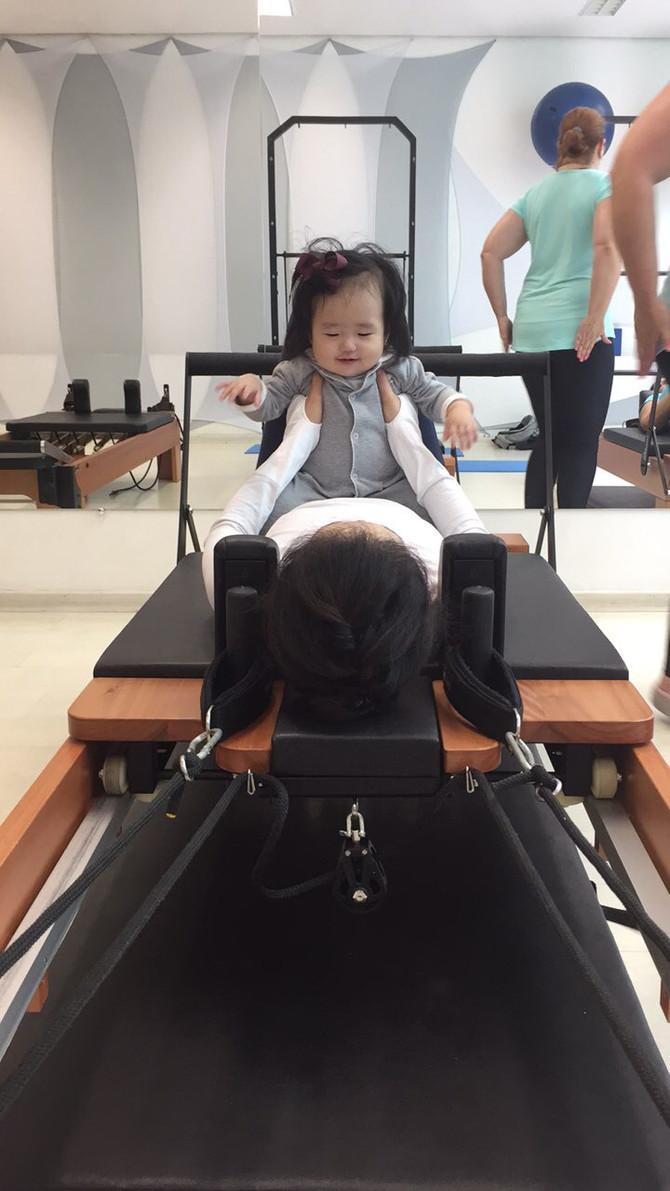 Pilates Mamãe e bebê