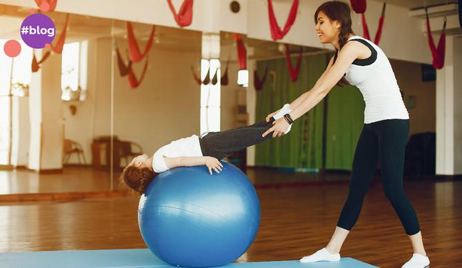 Pilates mamãe e bebê: carinho, saúde e cuidado
