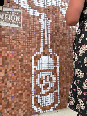 Fresque Pixel... géante !