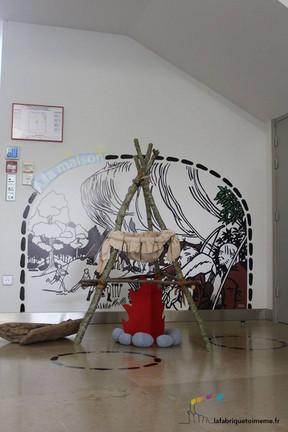 Un espace pour les tout-petits au musée de préhistoire