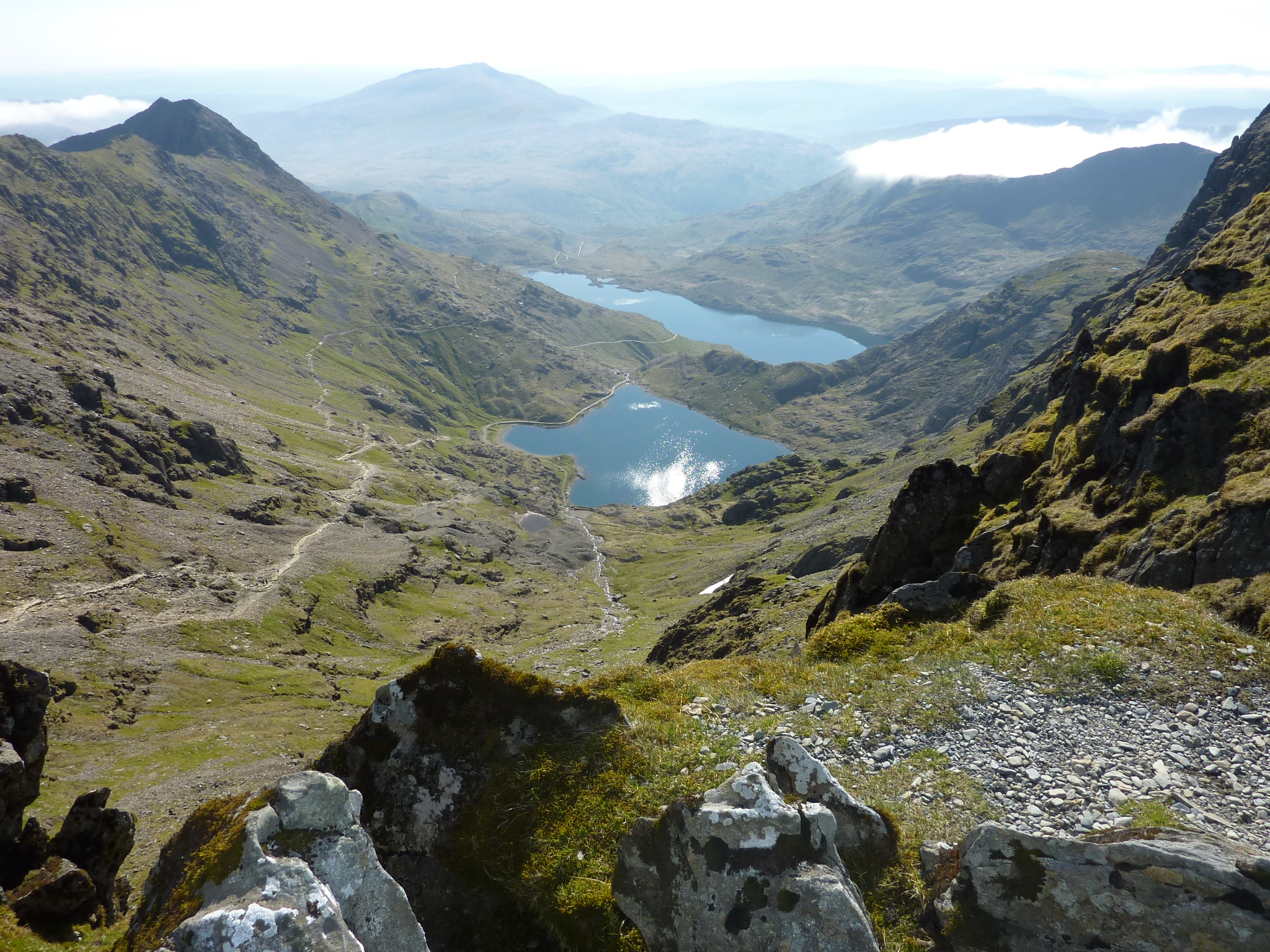 From Crib Goch