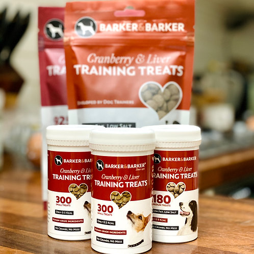 Barker and Barker: Liver & Cranberry Treats