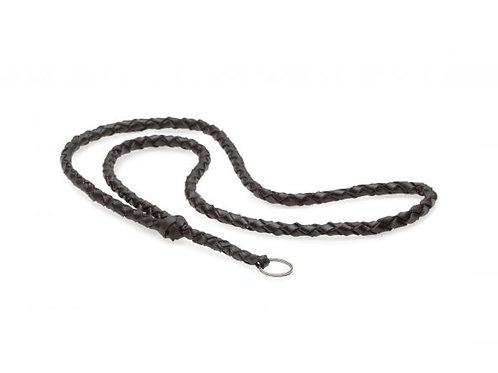 Leather Whistle Lanyard