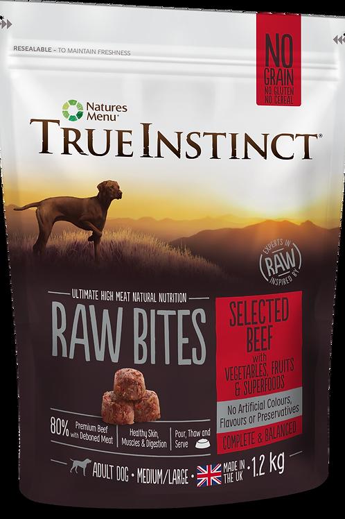 True Instinct: Beef Raw Bites 1.2kg